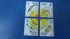 FALKLAND ISLANDS 1984 SG 492-495 NATURE CONSERVATION MNH