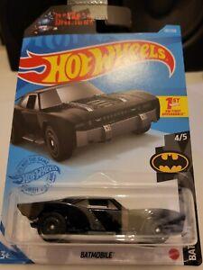 Hot Wheels 2021 Batmobile *181/250 HW Batman *4/5 GTB53 Black New Colour Long