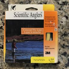 Scientific Anglers Concept Fly Line L-7-F Yellow 50 Feet Fly Fishing