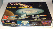 Star Trek the next generation u.s.s enterprise starship model kit 1988