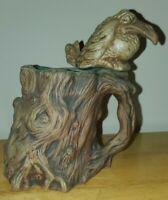 VTG 1973 Jim Rumph Ceramarte Tankard Mug Raven Bird Splatter Ogre Troll Gremlin