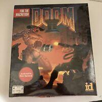 Doom II Hell on Earth (Apple, 1995) Sealed! NOS Mac Macintosh Doom 2 New in Box