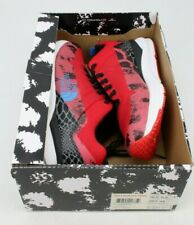 The North Face Sehn Low Animal Mens Athletic Shoes Size 10.5 Fiery Red TNF Black