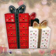 Décorations de sapin de Noël cadeau rouge pour Noël