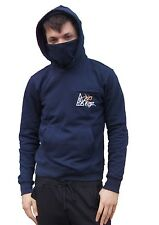 a highly limited allkingsapparel hoodie with a pullup mask/scarf