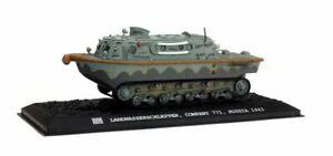 War Master, Landwasserschlepper 1 Germany 1943 Amphibious tracked craft, 1:72 Sc
