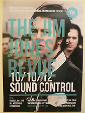 THE JIM JONES REVUE Gig Band Promo POSTER UK 2012 & the righteous mind