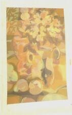 """Limit/#No. Signed Serigraph """"Golden Shadows"""" Listed Artist PHILIP GRONQUIST"""