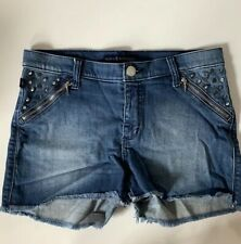 Rock & Republic Women's Jean  Denim Shorts Size 10 Studded RN#130273