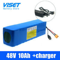ebike48V Volt 10AH electric bike battery  pack with 30A BMS+2A Lithium charger