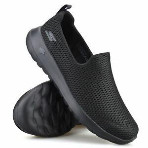 Mens Skechers Slip On Memory Foam GoWalk Casual Walking Gym Trainers Shoes Size