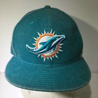 NFL Miami Dolphins New Era 9Fifty Blue Snapback Cap Hat OSFM NWOT