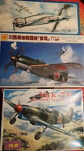 Lot Of Three 1/48 Scale Aircraft