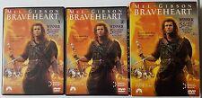 Braveheart DVD, MEL GIBSON, 2-Disc Set