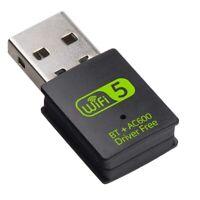 Adattatore Bluetooth WiFi USB, Ricevitore Esterno di Rete Wireless Dual Ban T1Y8