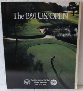 1991 U.S. OPEN GOLF PROGRAM HELD AT HAZELTINE G.C. WON BY PAYNE STEWART