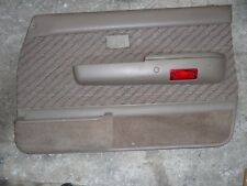 Toyota 4Runner RIGHT FRONT DOOR PANEL 90 91 92 93 94 95 TAN DRIVER SIDE 4 four