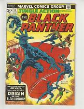 Jungle Action #8/Bronze Age Marvel Comic Book/Black Panther Origin/FN+