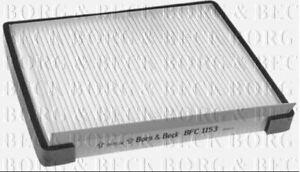 Borg & Beck Cabin Pollenfilter für Hyundai Coupe I30 1.4 73KW