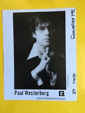 Paul Westerberg (the Replacements) Press Photo 8x10, 1996 Reprise Records