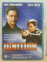 Ignition DVD Bill Pullman Movie RARE 2001 - Lena Olin - REGION 4 AUSTRALIA