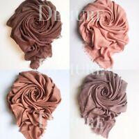 Modal Hijab High Quality Elegant Drape Soft Maxi Shawl Wrap Sarong Cape