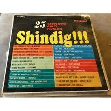 """VINYL RECORD LP GUEST STAR NEWARK NJ~25 ARTISTS AND TUNES """"SHINDIG"""" GS-1488"""