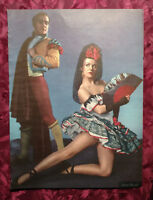 1944 Original Esquire Art PHOTOS WWII Era MARIA MONTEZ MARINA SVETLOVA