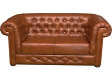 Chesterfield Sofa Set Couch Upholstery Leather 3+2+1 Seat Sofa Set Bantry