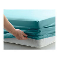 FITTED SHEETS PERCALE SINGLE DOUBLE KING SUPER KING SIZE OR PILLOWCASE