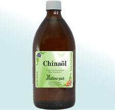 Chinaöl mit Eukalyptus 500 ml Glasflasche 100% naturrein Verdauung Bronchitis
