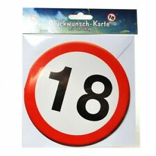 Metall Button Glückwunsch Karte 18 Geburtstag Geschenk Geburtstagskarte