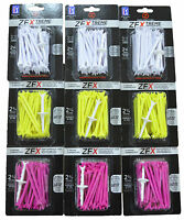 "ZERO FRICTION ZFX GOLF TEES - 2.75"" - MULTIPLE COLOURS & QUANTITIES"