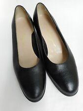 "Gorgeous Salvatore Ferragamo black leather formal shoes 1.5"" heel US7.5 UK5.5"