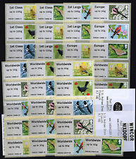 BIRDS 2 Post & Go COMPLETE 36 SET PLYMOUTH - K1 30 SET PLUS K2 SET 6 40g  SCARCE