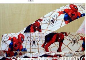 Spiderman ribbon 1m long