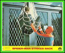"NICHOLAS HAMMOND in ""Spider-Man Strikes Back"" Original COLOR TV LOBBY CARD 1979"