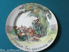 "Royal Doulton plate  ""Under the Greenwood Tree"" pattern 10"" [46]"