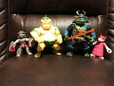 Vintage Teenage Mutant Ninja Turtles action figures lot 5