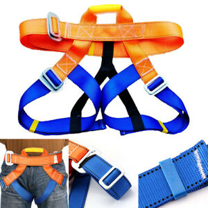Harness Seat Belts Safety Rock Climbing Height Rappelling Equipment UK