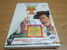 Disney Pixar Toy Story 1 and Toy Story 2 Pack Factory Sealed