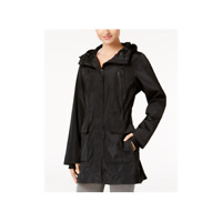 Calvin Klein Womens Performance Hooded Jacket Black Size X-Small