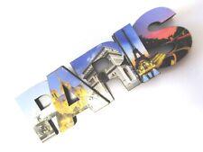 Paris Holz Magnet Großbuchstaben,Eiffelturm,8 cm,Souvenir Frankreich,Neu