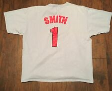 Ozzie Smith #1 Cardinals Men's Majestic Name & Number T-Shirt 2XL