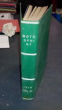 Motosprint 1978  Volume 3 rilegato con  copertina rigida n. 35/52
