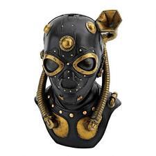 Industrial Steampunk Mask Contemporary Modern Sculpture