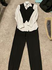 Boys Dress Shirt, Vest & Dress Pants Size 10/12