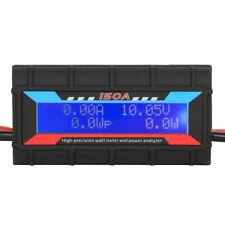 150A Digital LCD Watt Meter Power Volt Amp Meters RC Battery Solar Analyzer V5H3