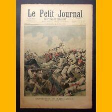 LE PETIT JOURNAL Suppl. illustré EXPÉDITION DE MADAGASCAR  2 juin 1895