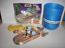 Rare~MAXI~Hippo Star Wars Hipperium~LANDSPEEDER mit LUKE~Original~TOP